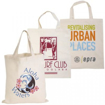 Short Handle Cotton Tote Bag - Branded