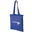 Madras Coloured Cotton Tote Bag - Branded