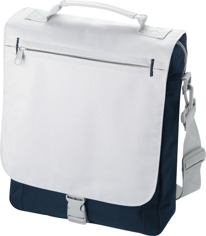 Philadelphia Shoulder Bag - Navy & Grey