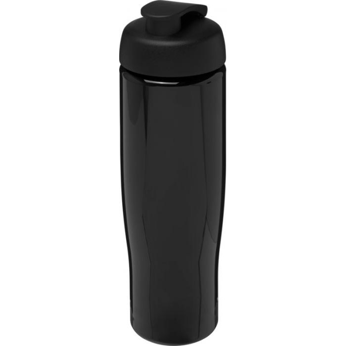 700ml Tempo Sports Bottle - Black bottle & lid