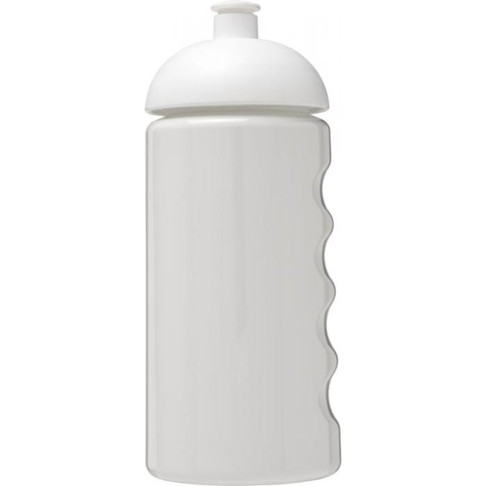 500ml Active Grip Water Bottle White