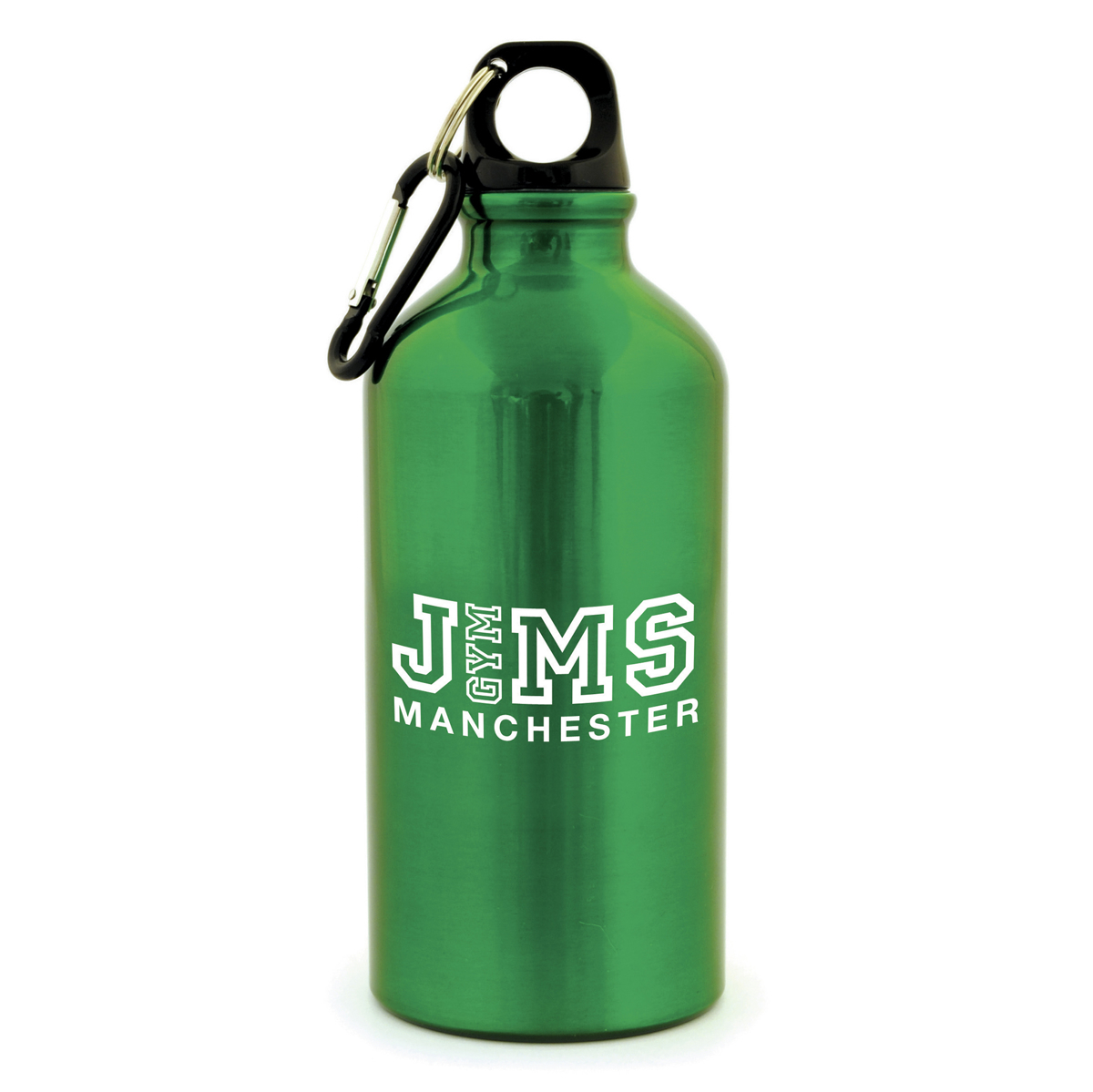 500ml Aluminium Sports Bottle Green