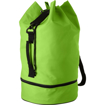 Duffel Bag with Shoe Pocket - Lime Green