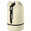 Duffel Bag with Shoe Pocket - Beige
