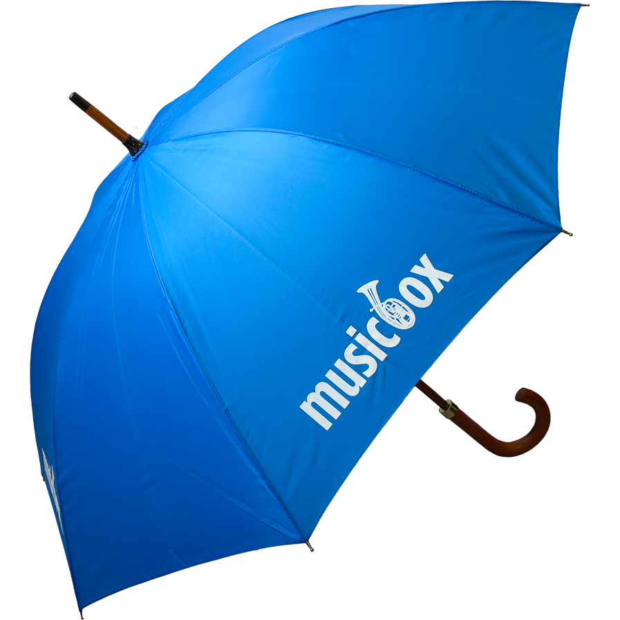 Woodstick Umbrella - Branded