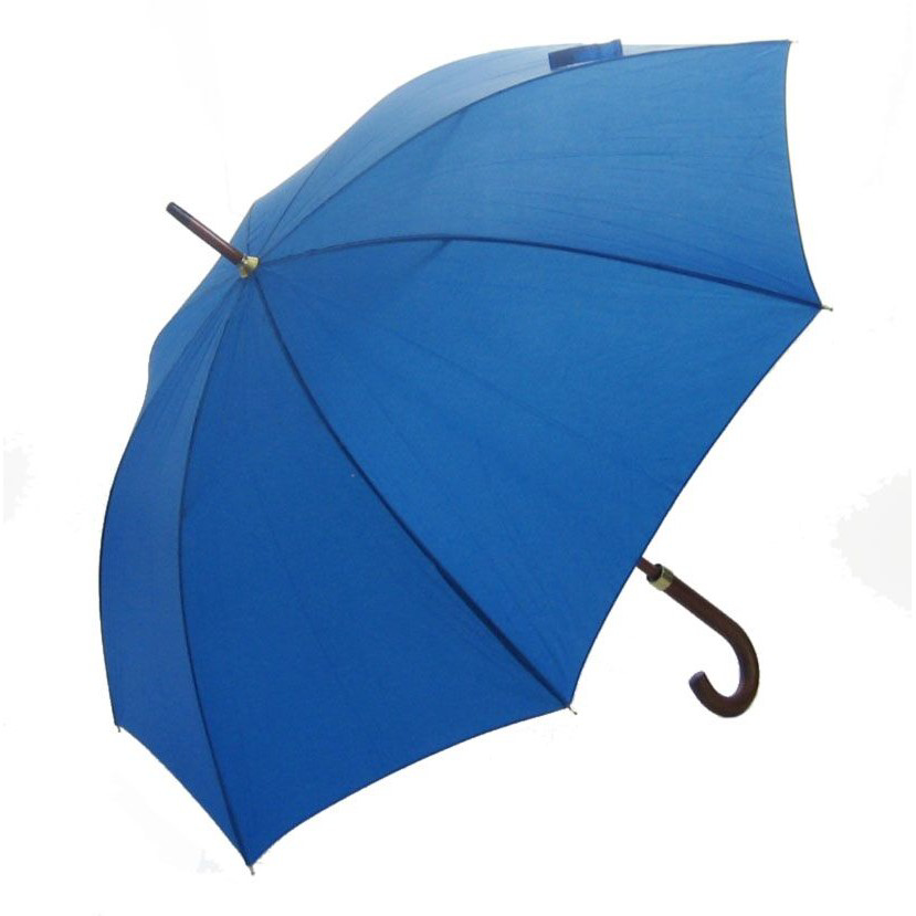 Woodstick Umbrella - Royal Blue