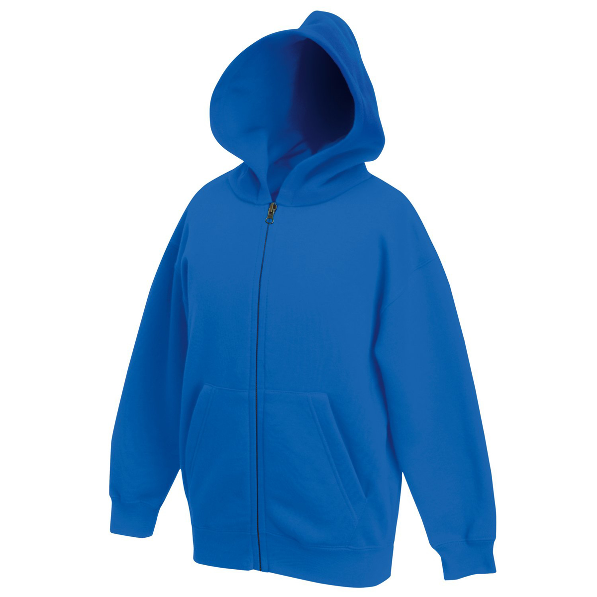 Fruit of the Loom Childrens Hoodie - Royal Blue