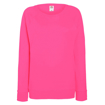 Fruit of the Loom Ladies Sweatshirt - Pink