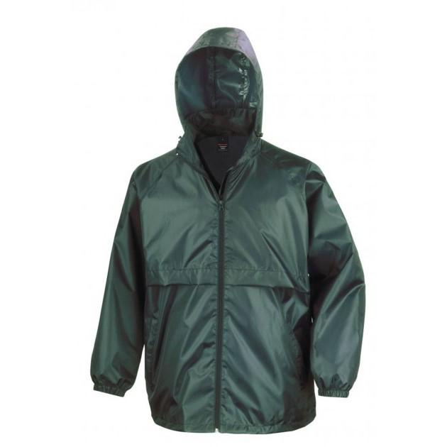 Result Windcheater Jacket - Bottle Green