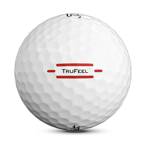 Titleist TruFeel Golf Balls - White branded