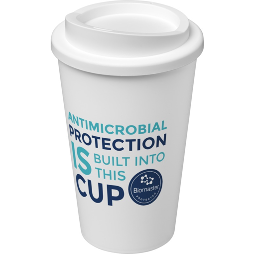Americano Pure Antimicrobial Coffee Cups - Branded
