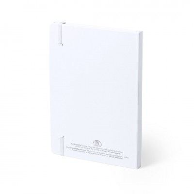 A5 Antibacterial Notebooks - Rear